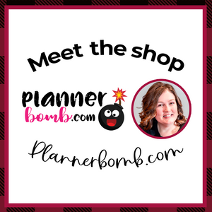 MEET THE SHOP: Plannerbomb.com