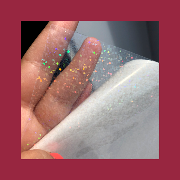 PRE-ORDER for Sequin Glitter Holographic Overlay 50PCS