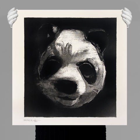 CHARMING BAKER - 'FLOCKED PANDA HEADS' ART PRINT