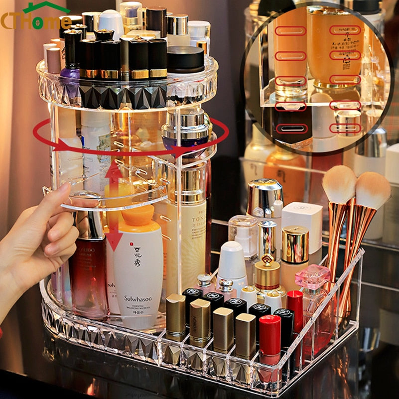 360 Degree Rotating Storage Organizer - Beautified Glow