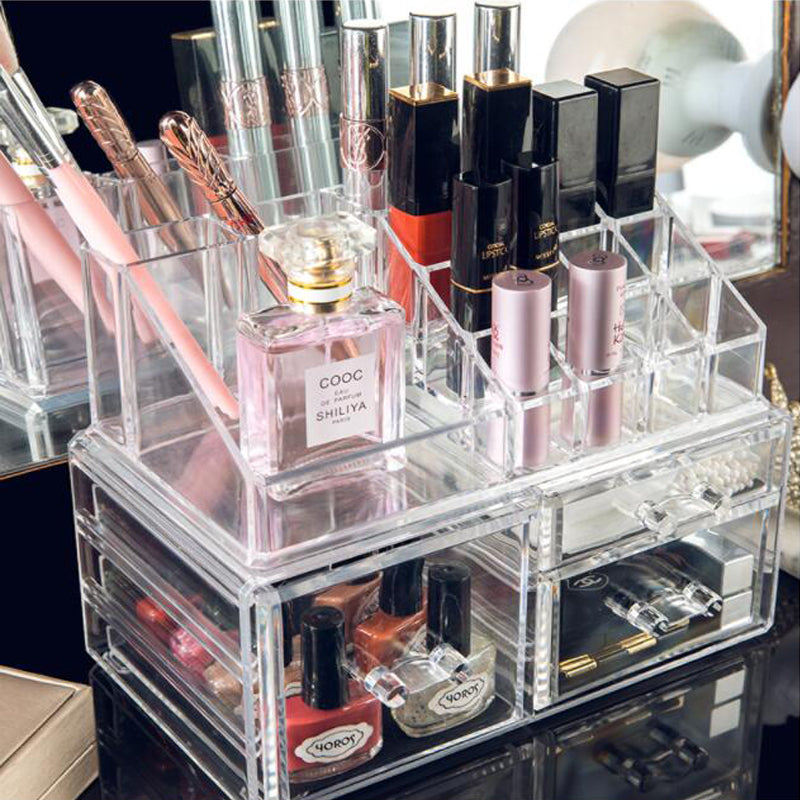 Clear Storage Organizer - Beautified Glow