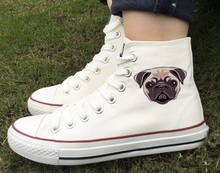 Load image into Gallery viewer, pug swag sneakers