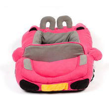 Load image into Gallery viewer, pug swag sports car pug bed in pink,