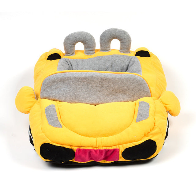 pug swag sports car pug bed in yellow