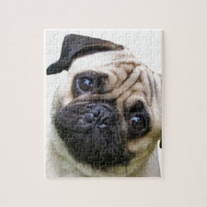 Personalised Pug Jigsaw