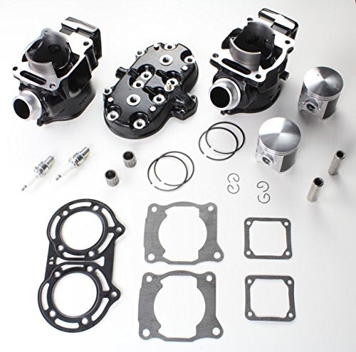 Cylinder Head Piston Gasket Top End Kit for Yamaha Banshee 350 1987-2006