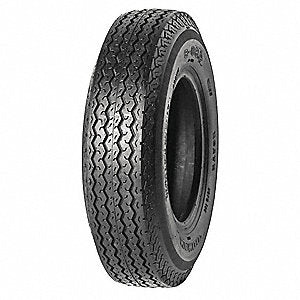High Speed Trailer Tire, 4.80-8, 6 Ply