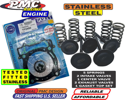 Yamaha YFZ450X / R All Years Engine Valve Set with Top Gasket Set