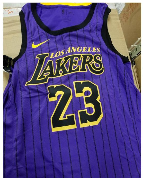 newest collection 15954 705af lakers city edition jersey 2019