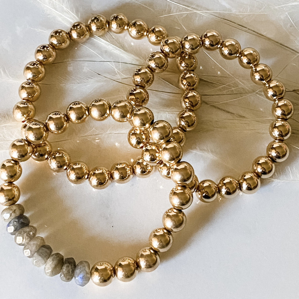 8mm Gold Filled Bracelet