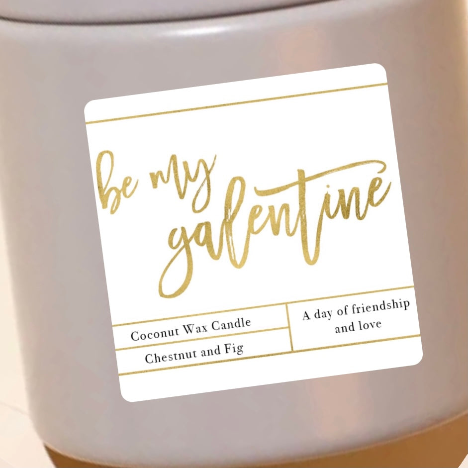 Galentines Day Candle