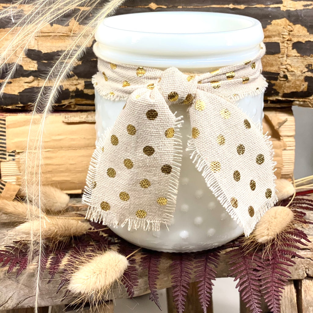 Old Fashioned, Hobnail Candle