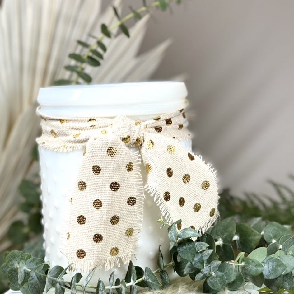 Spa Day, Hobnail Candle
