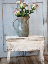 Load image into Gallery viewer, Rustic Old French Stool
