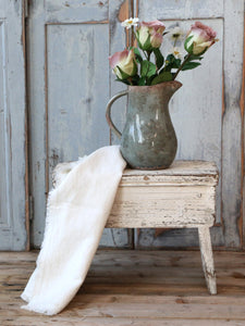 Rustic Old French Stool
