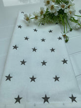 Load image into Gallery viewer, Teatowel ...  Grey Star
