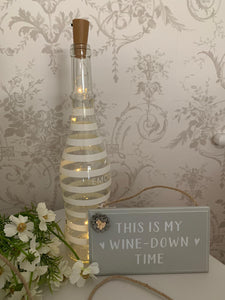 LED Cork Bottle Lights, Warm white