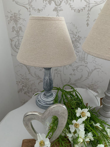 Table Lamp .... Grey / Neutral 26cm