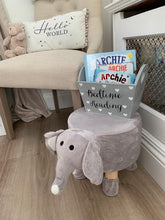 Load image into Gallery viewer, Elephant safari stool