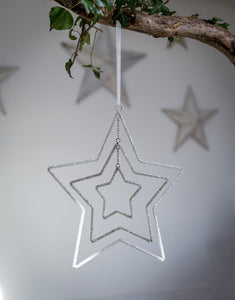 Beaded Star ... 3 Layers