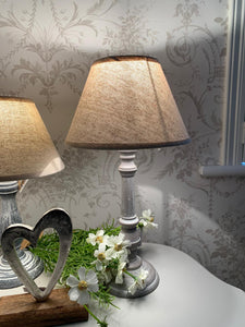 Table Lamp .... Taupe / Neutral 41cm