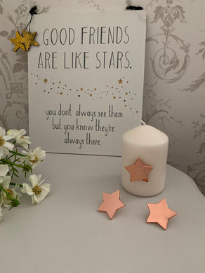 Star Candle Pins ... Set of 3