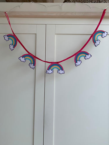 Rainbow Bunting ** NHS Donation **