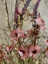 Load image into Gallery viewer, Pink wild rose spray .... 3 stems