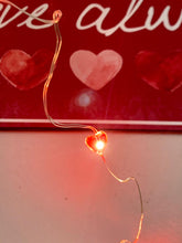Load image into Gallery viewer, LED Valentines red Heart Bottle Lights