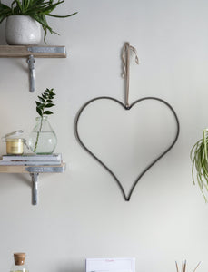 Chunky wired steel Heart