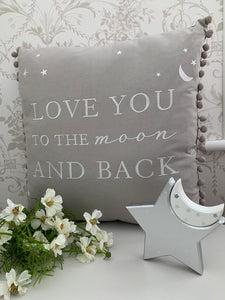 Love you to the Moon & Back Cushion