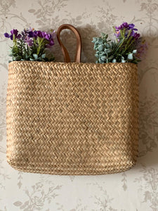 Natural seagrass Hanging Basket ... 2 sizes