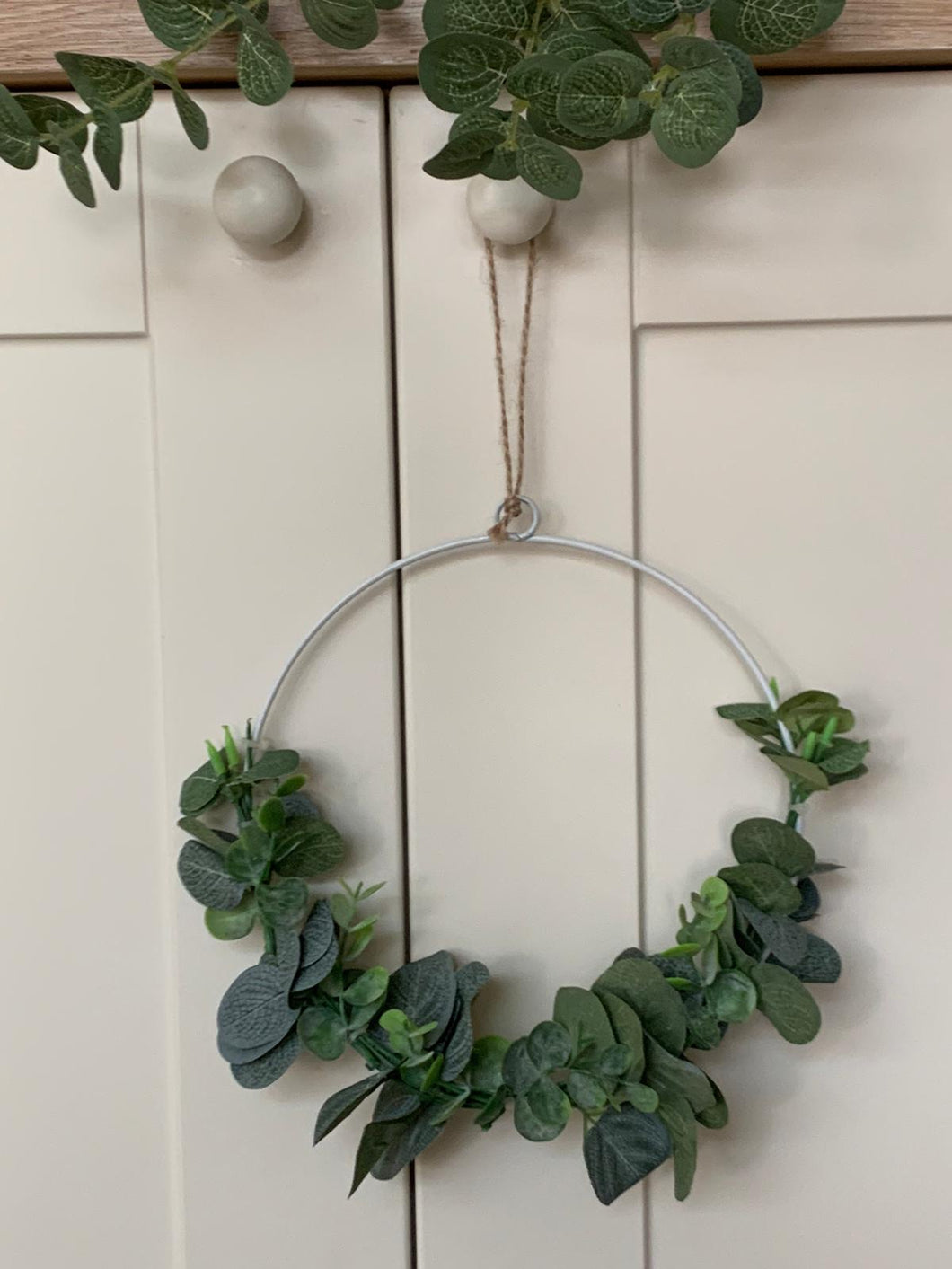 Eucalyptus wired wreath