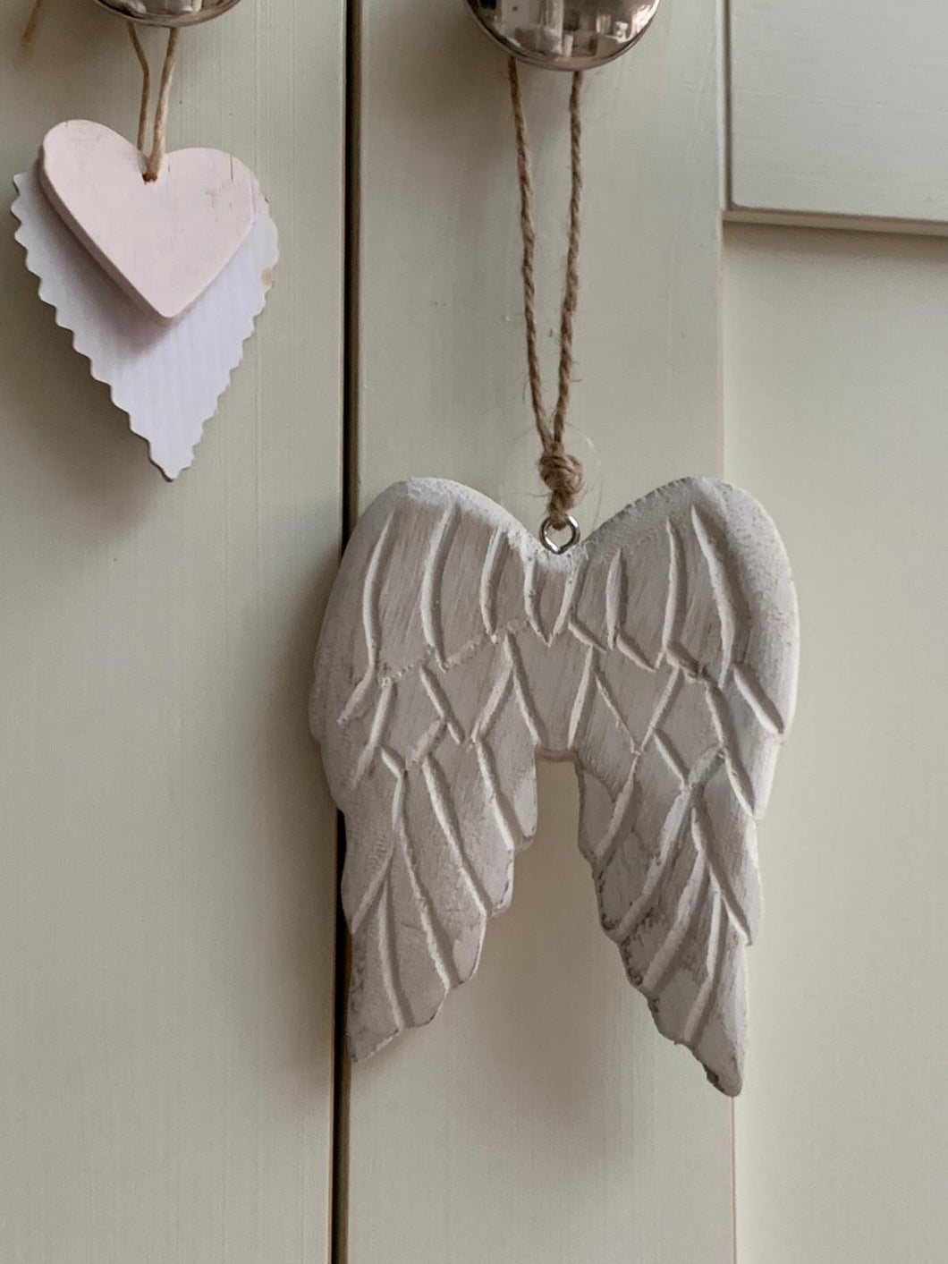 Chunky Wooden Angel Wings