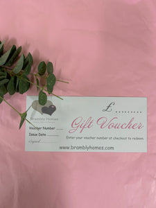 ** PAPER GIFT VOUCHER - POSTED **