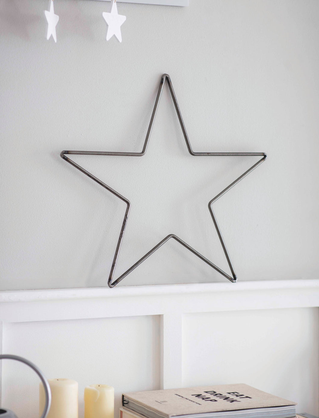 Chunky wired steel Star