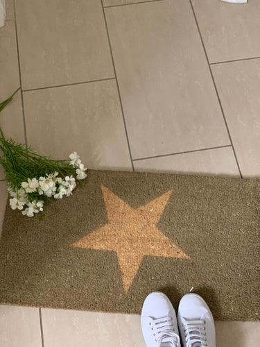 Door Mat - Large ...  Star