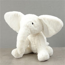 Load image into Gallery viewer, Plush White Elephant