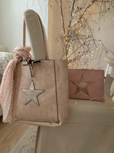 Load image into Gallery viewer, Star Tote bag ... Dusty Pink