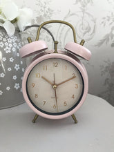 Load image into Gallery viewer, Alarm Clock ... Pastel Pink / Grey