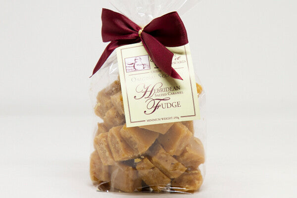 Hebridean Salted Caramel Fudge Ribbon Bag