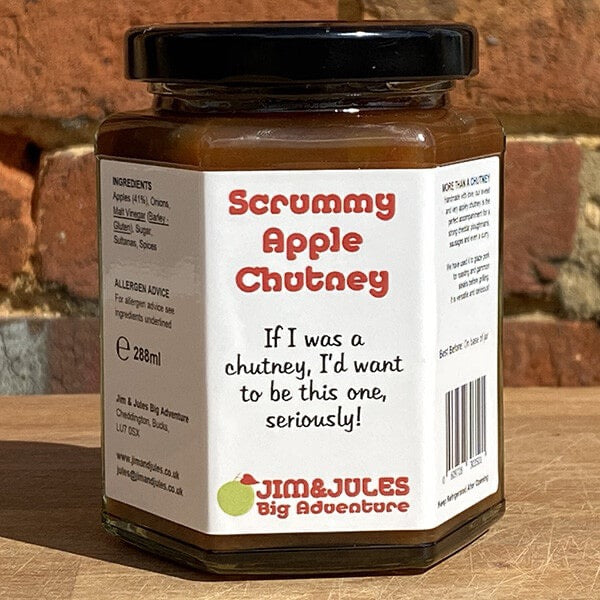 Scrummy Apple Chutney
