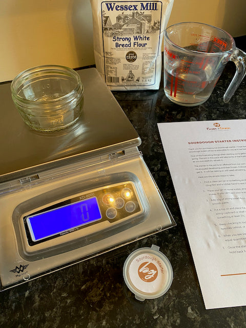 Sourdough Yeast Starter by Post