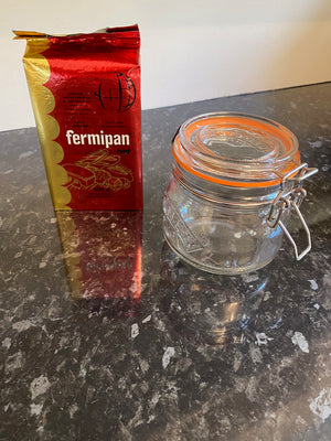 Fermipan Instant Active Dried Yeast + 500ml Kilner Jar