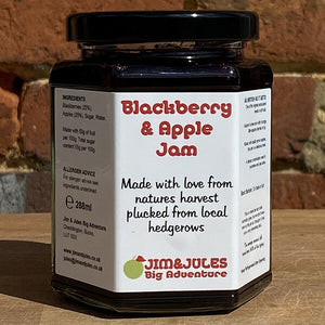 Jamtastic Blackberry And Apple Jam