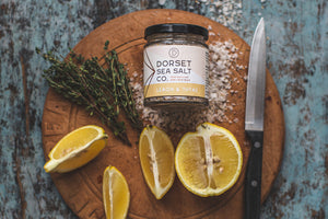 Lemon and Thyme Infused Sea Salt