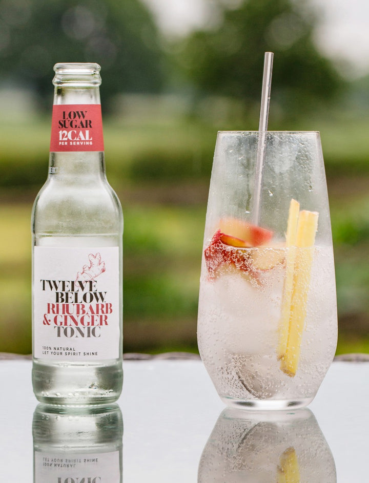 Rhubarb & Ginger Tonic 4 Pack