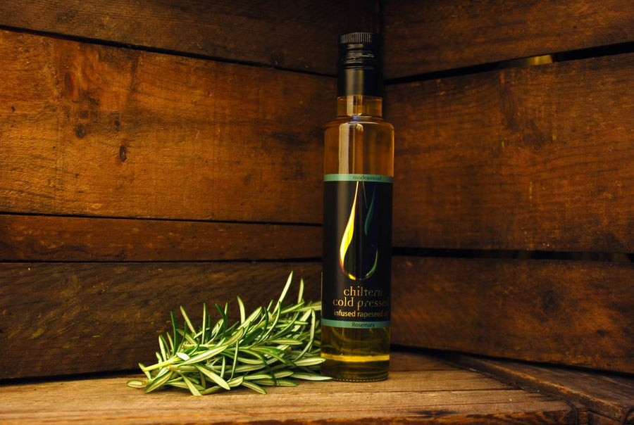 Chiltern Cold Pressed Rosemary Infused Rapeseed Oil