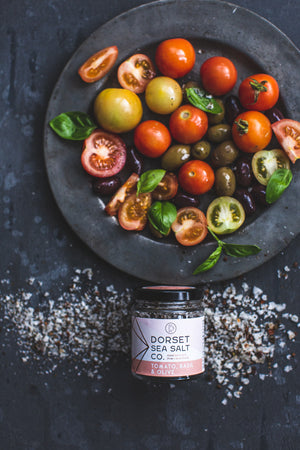 Tomato, Olive and Basil Sea Salt