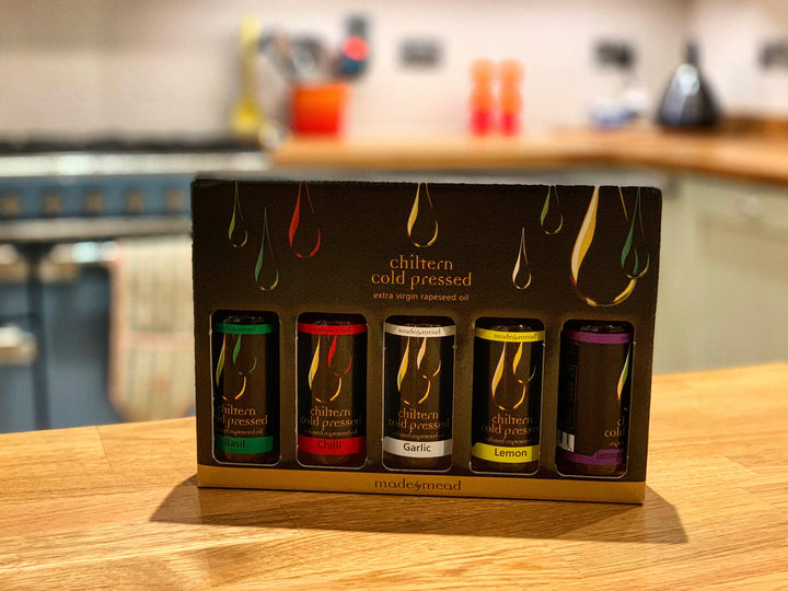 Chiltern Cold Pressed Oil Gift Pack